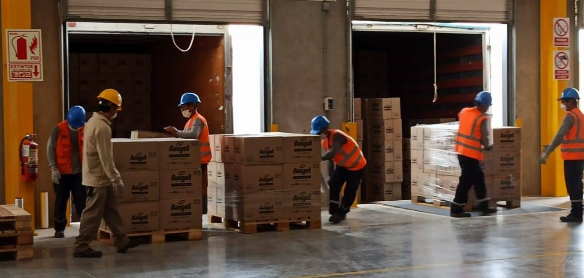 """Ransa: """"desde el primer día mantenemos la entrega eficiente de productos de primera necesidad"""""""